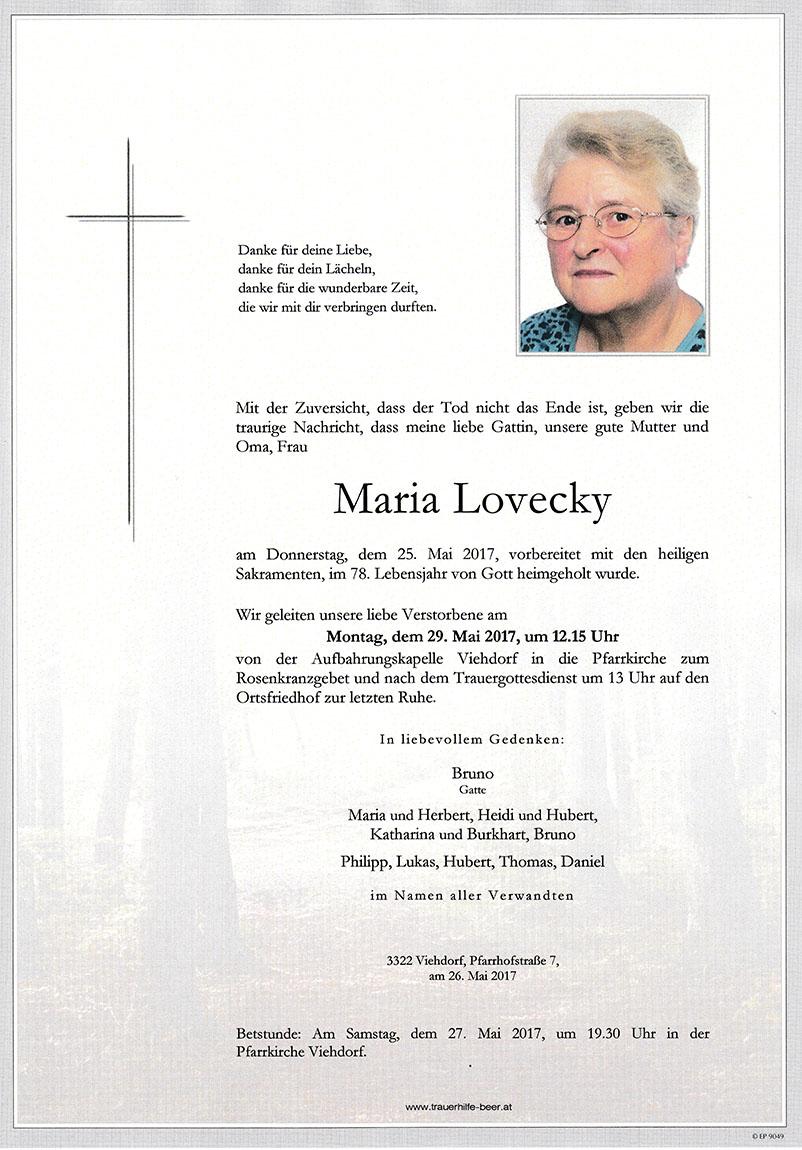 Maria Lovecky