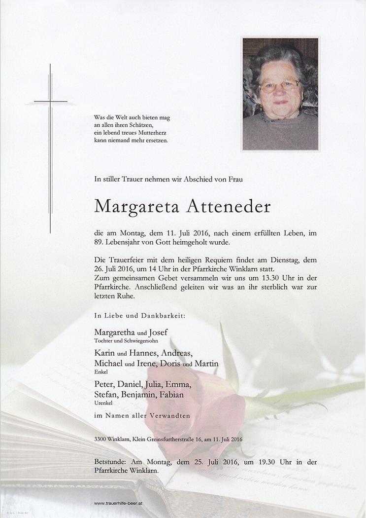 Margareta Atteneder