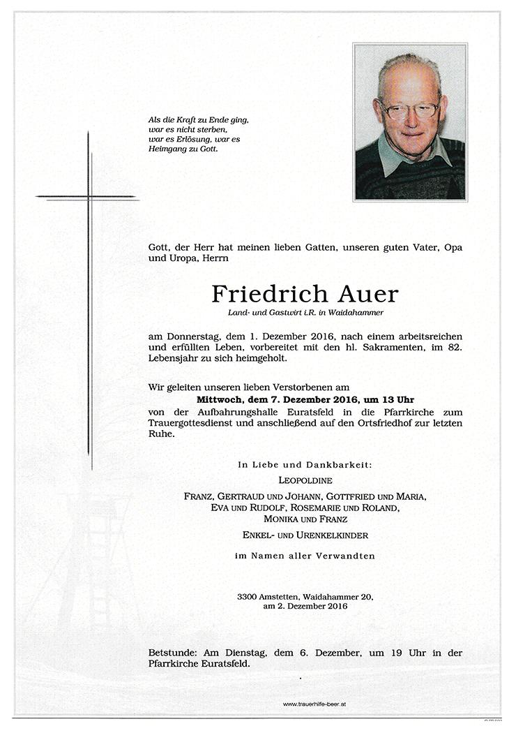 Friedrich Auer