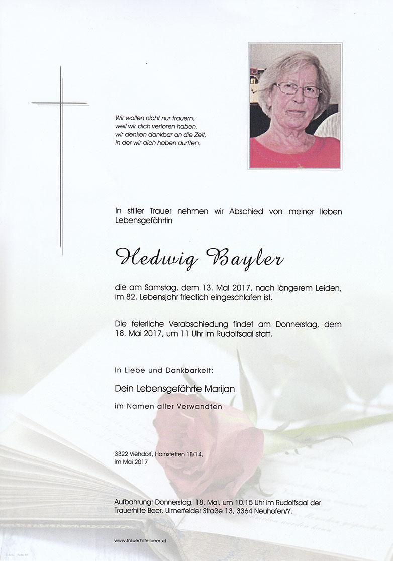 Hedwig Bayler