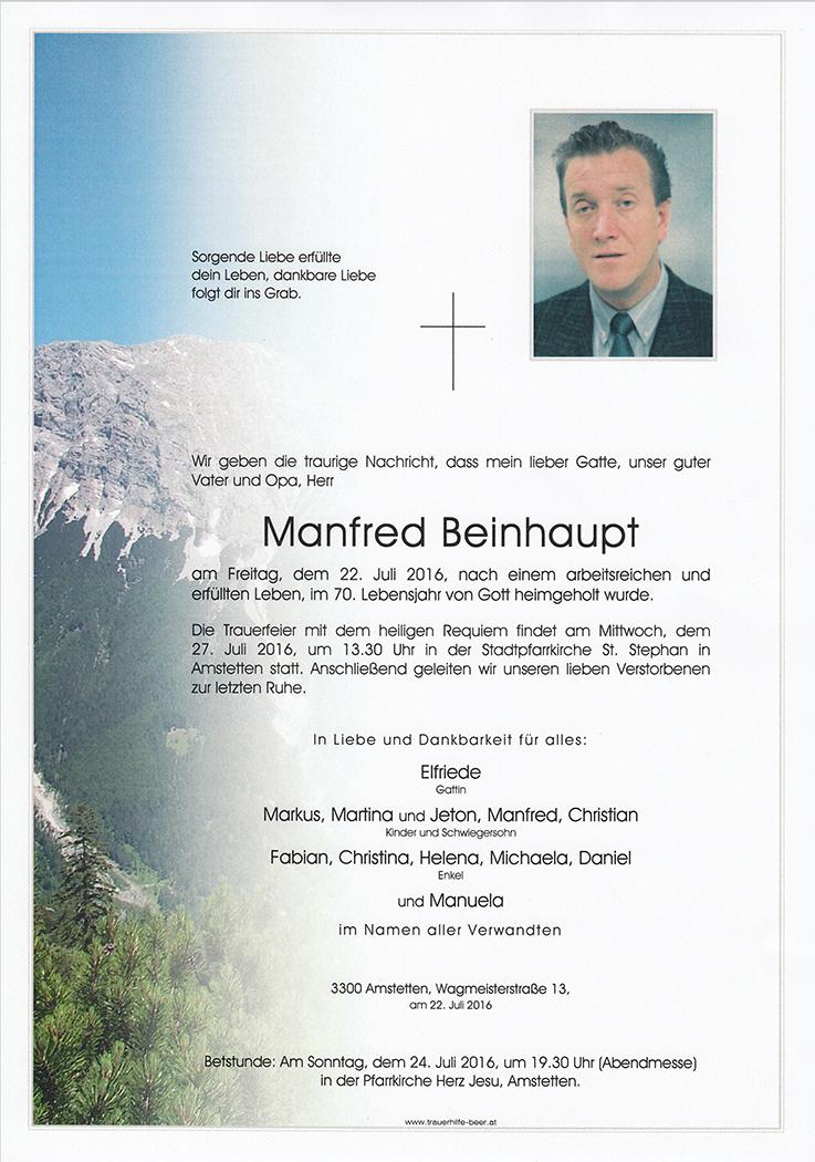 Manfred Beinhaupt