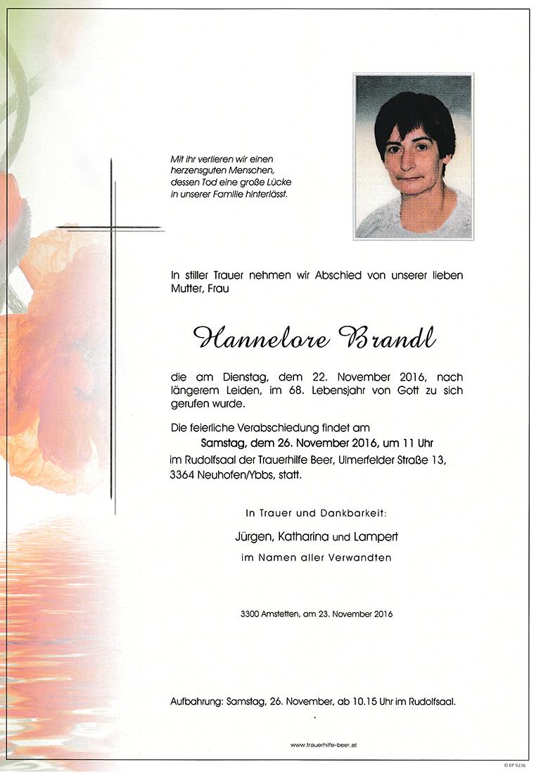 Hannelore Brandl