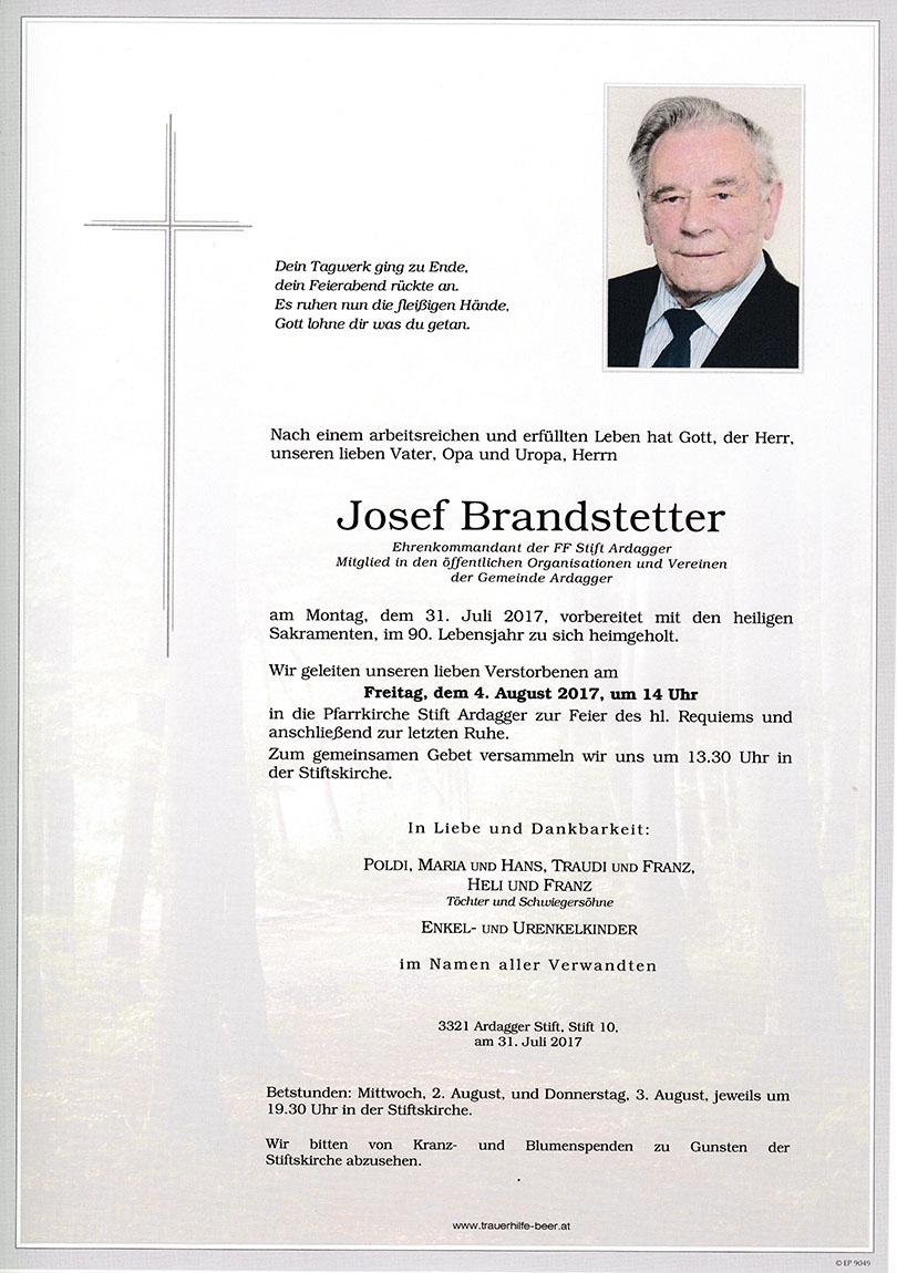 Josef Brandstetter