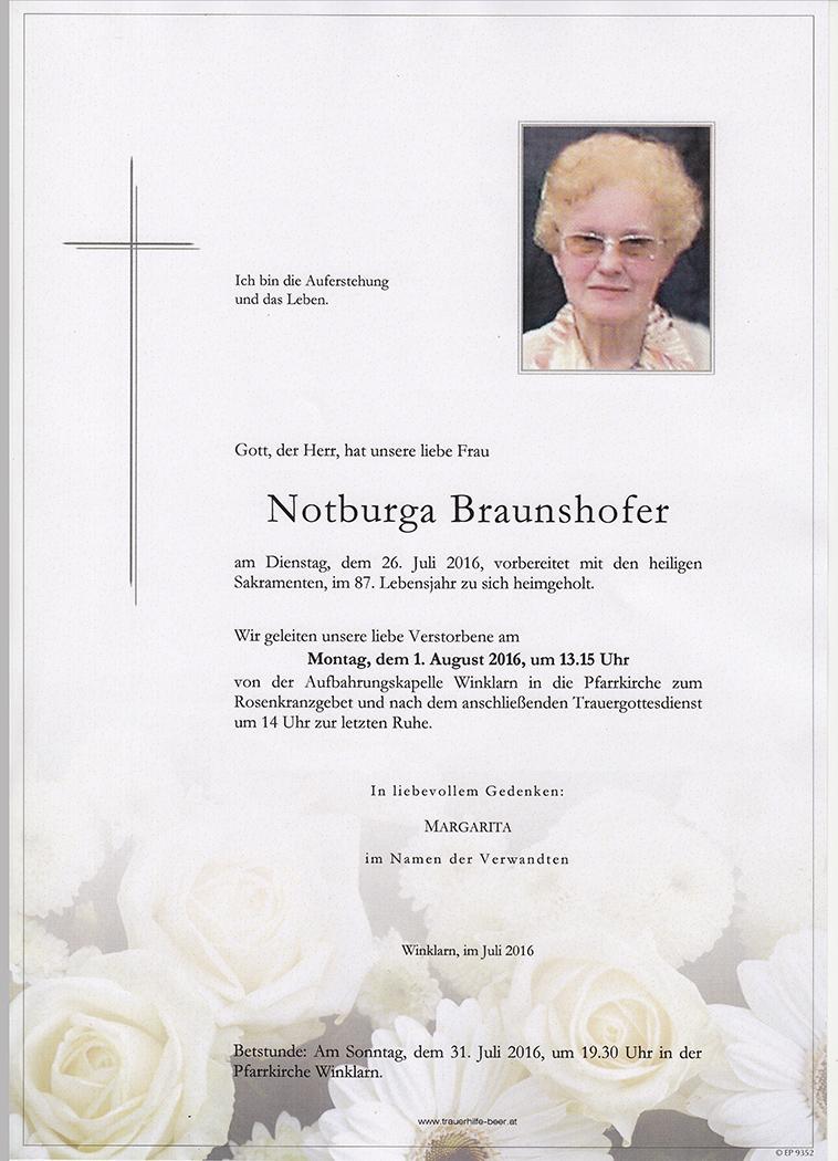 Notburga Braunshofer