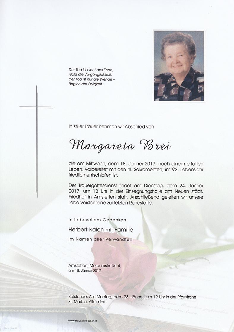 Margareta Brei