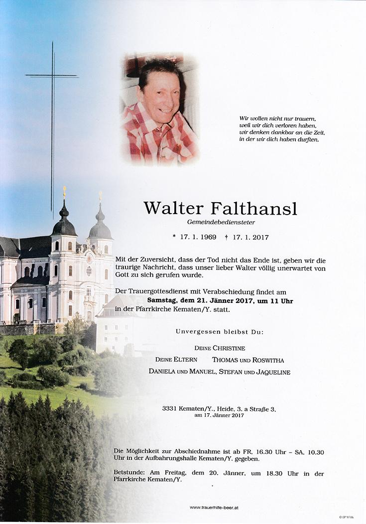 Walter Falthansl