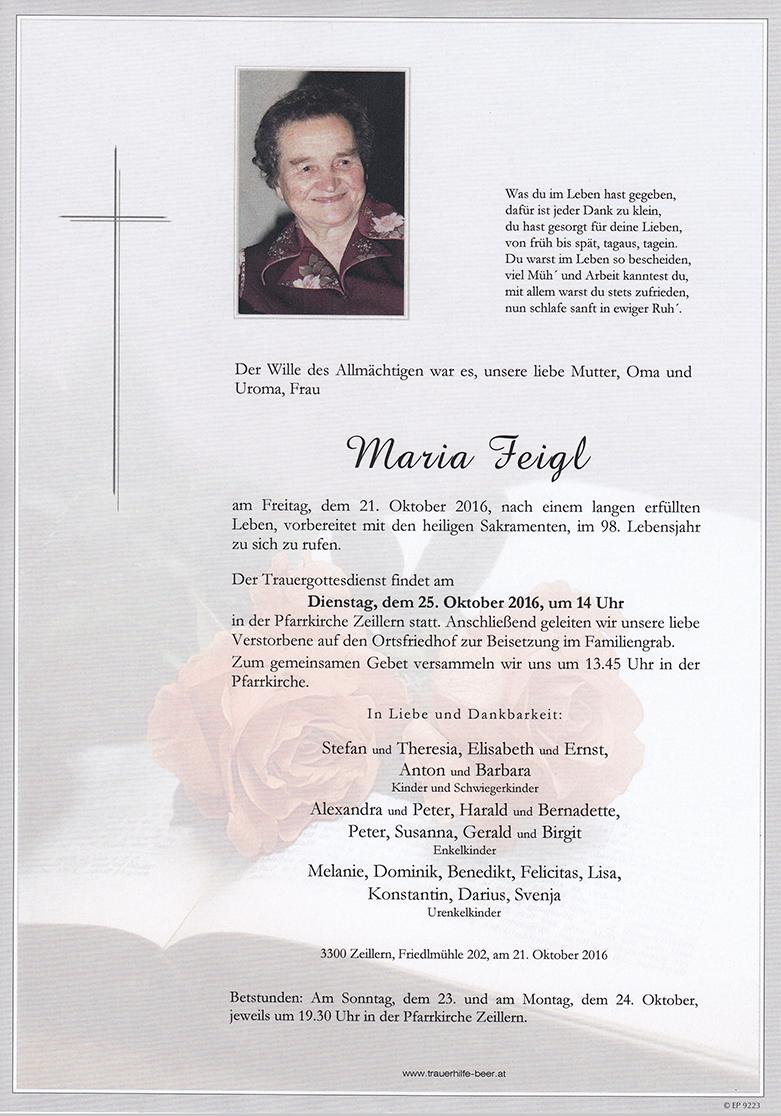 Maria Feigl