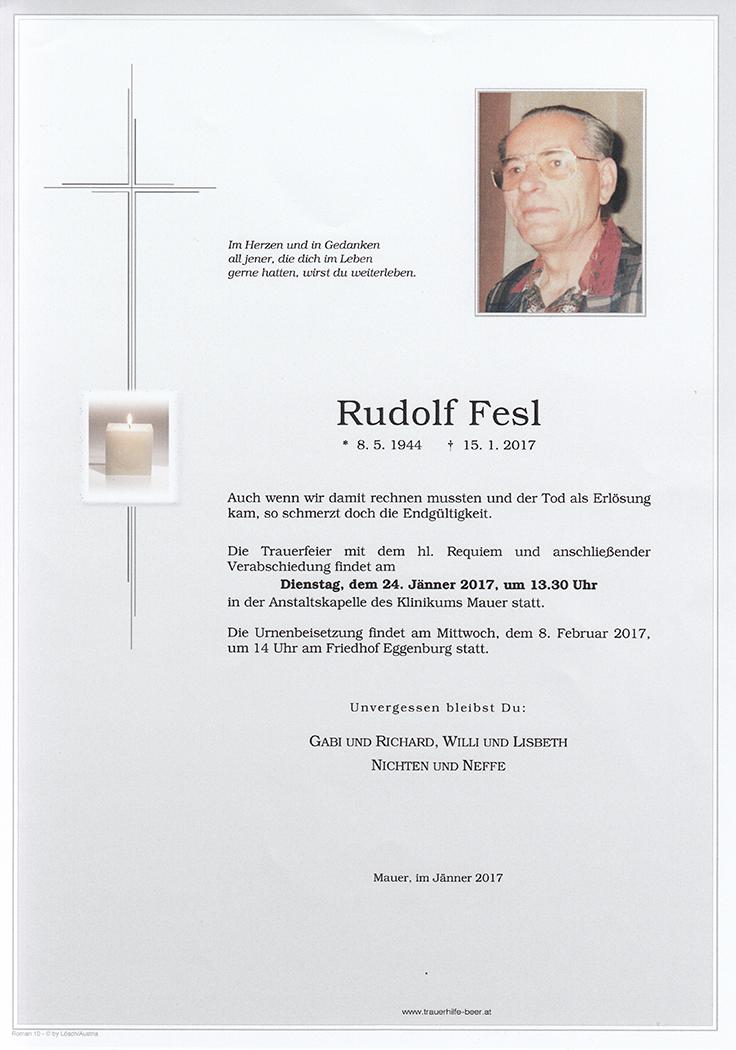 Rudolf Fesl