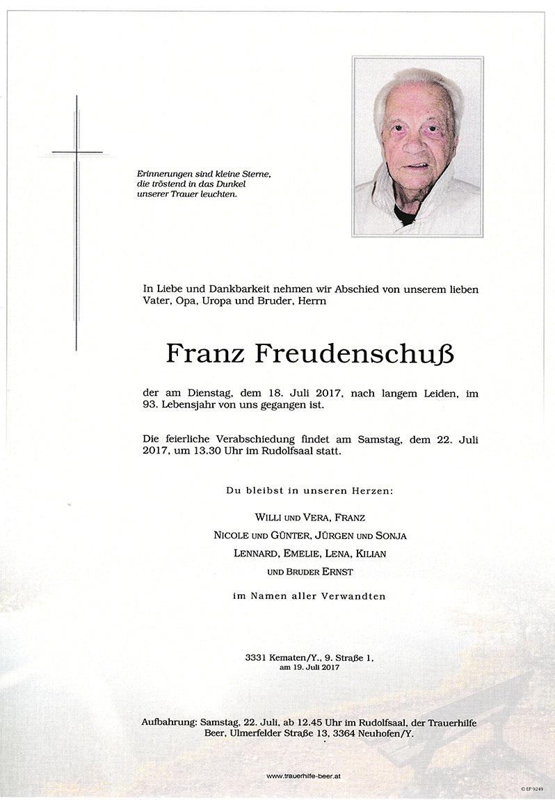 Franz Freudenschuß