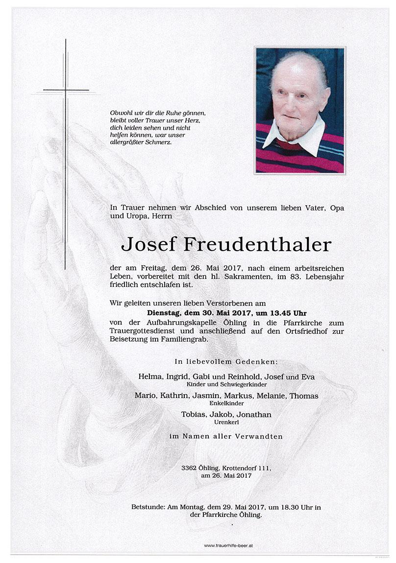 Josef Freudenthaler