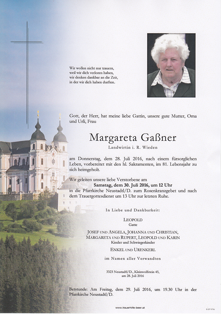 Margareta Gaßner