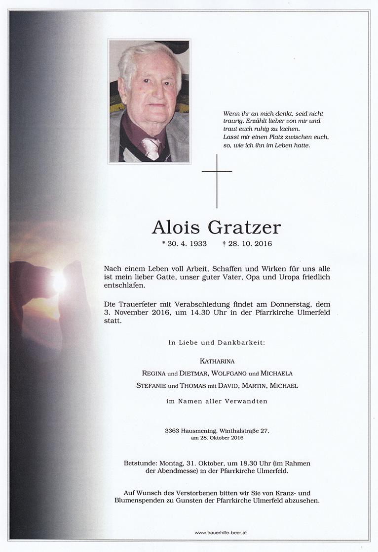 Alois Gratzer