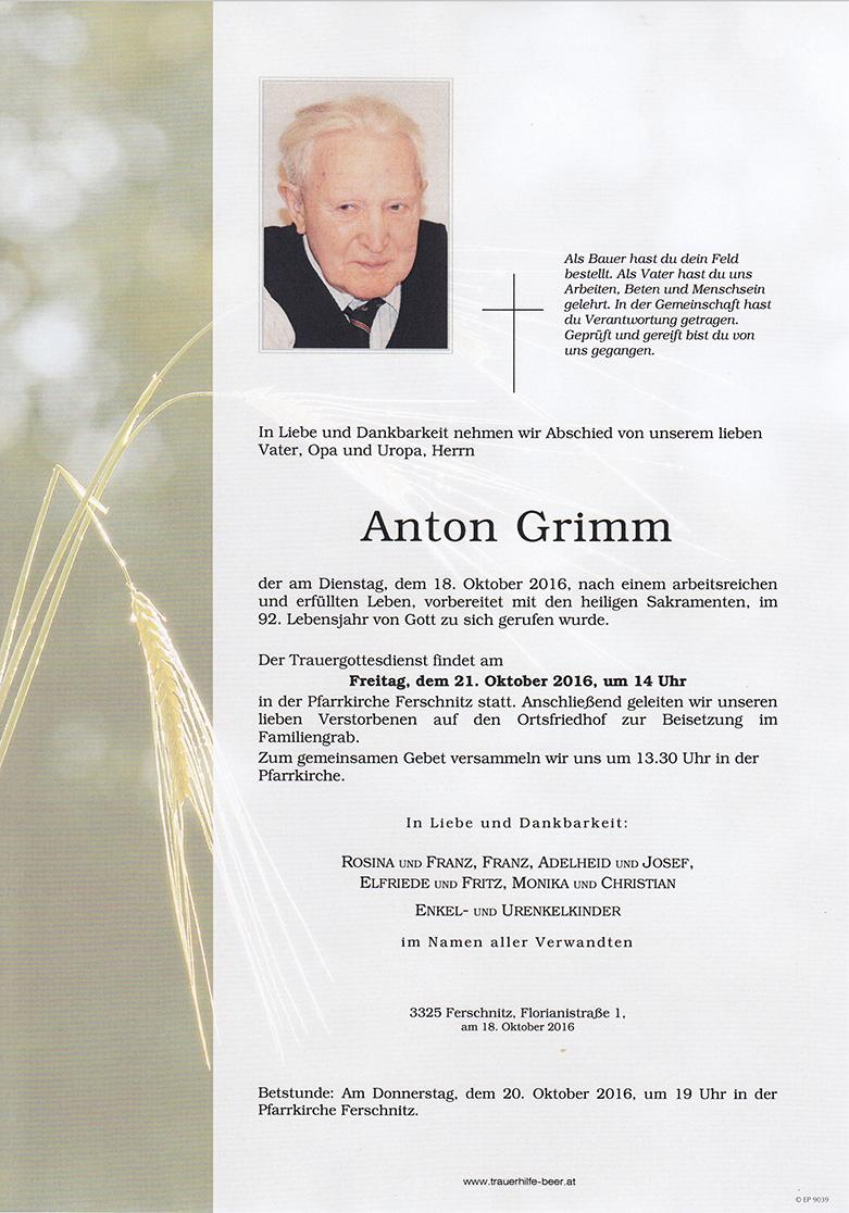 Anton Grimm