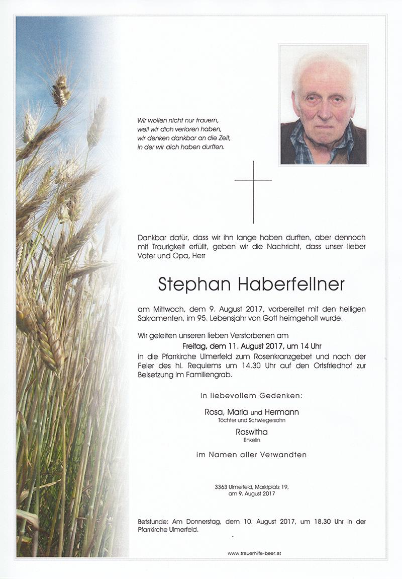 Stephan Haberfellner