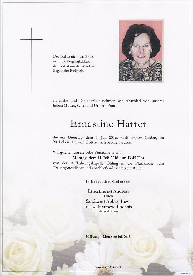 Ernestine Harrer