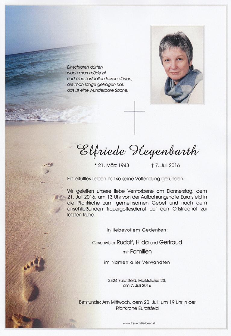 Elfriede Hegenbarth