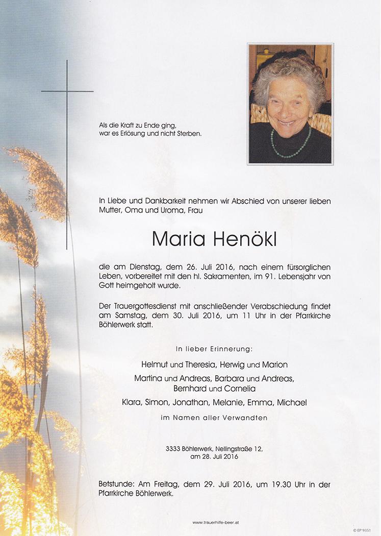 Maria Henökl