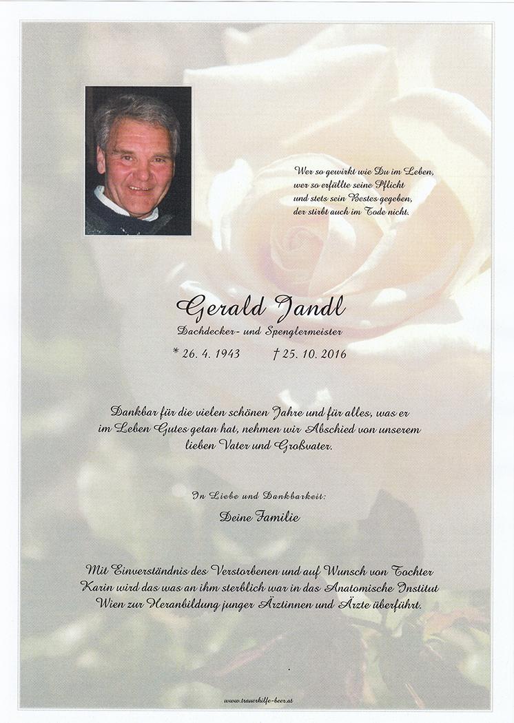 Gerald Jandl