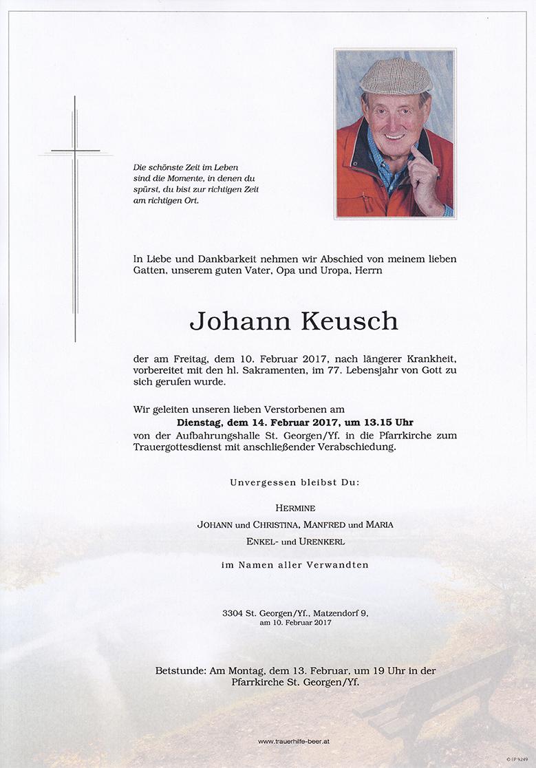 Johann Keusch