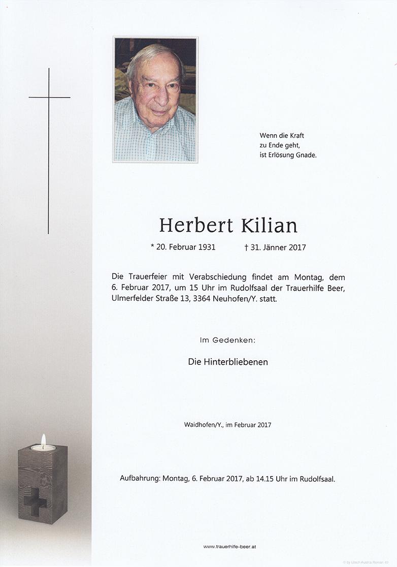 Herbert Kilian