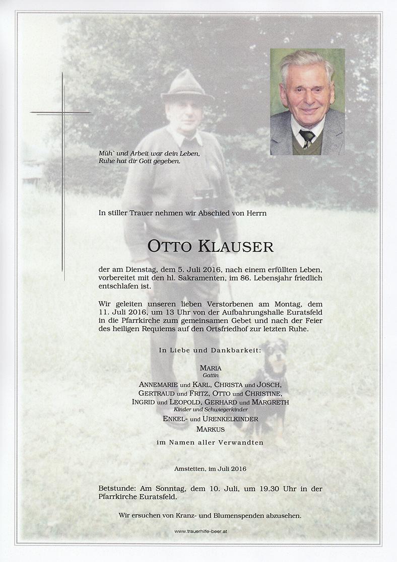 Otto Klauser
