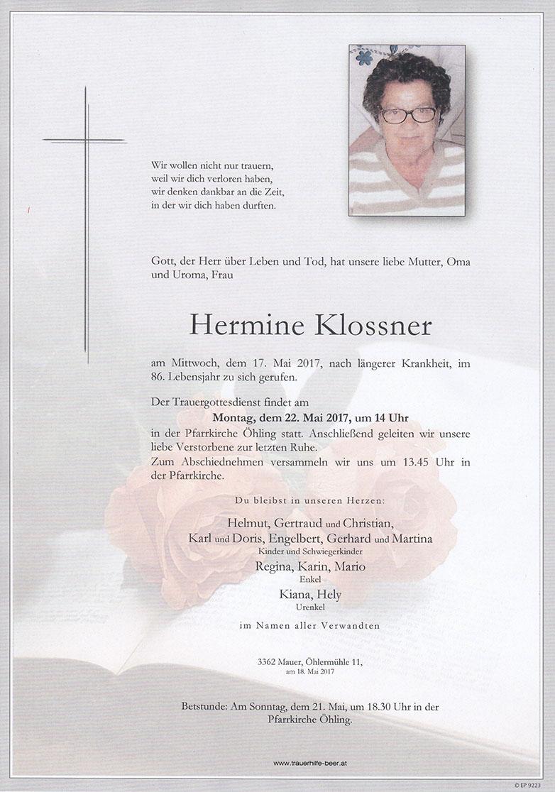 Hermine Klossner