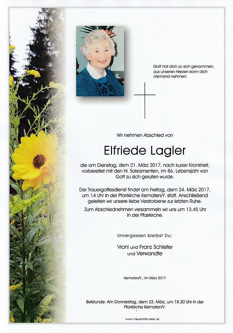 Elfriede Lagler