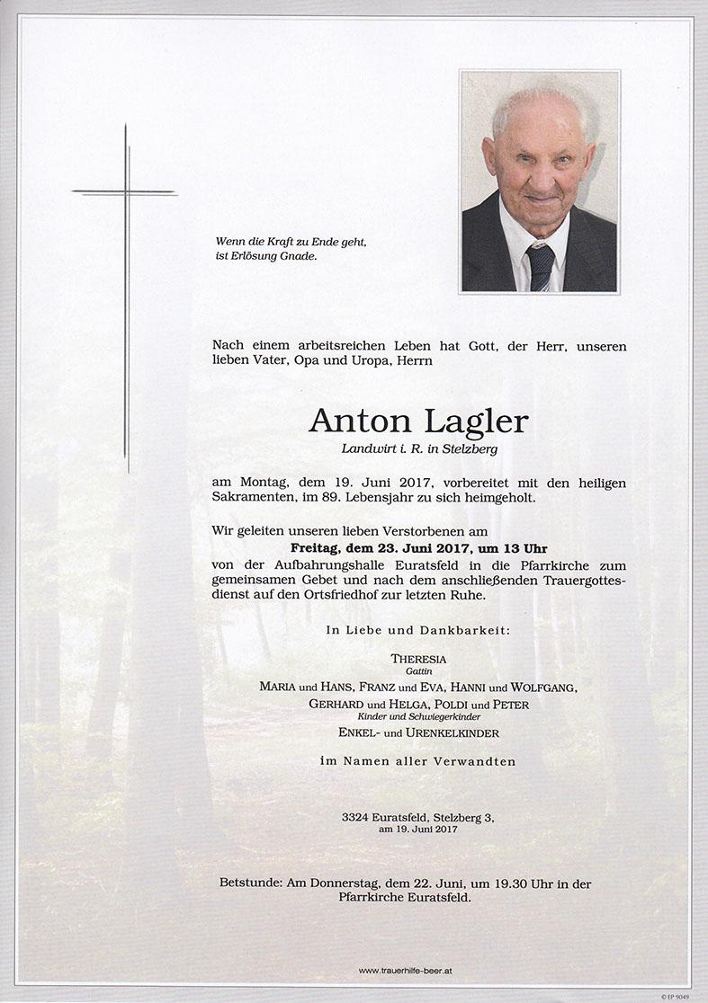 Anton Lagler