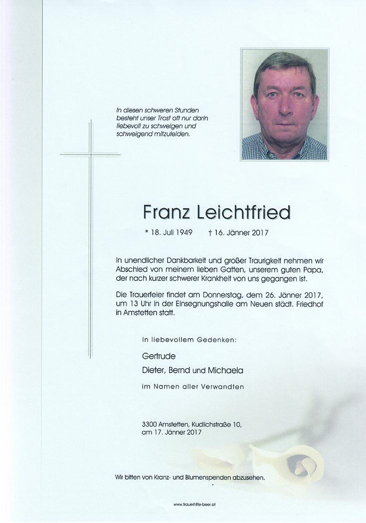 Franz Leichtfried