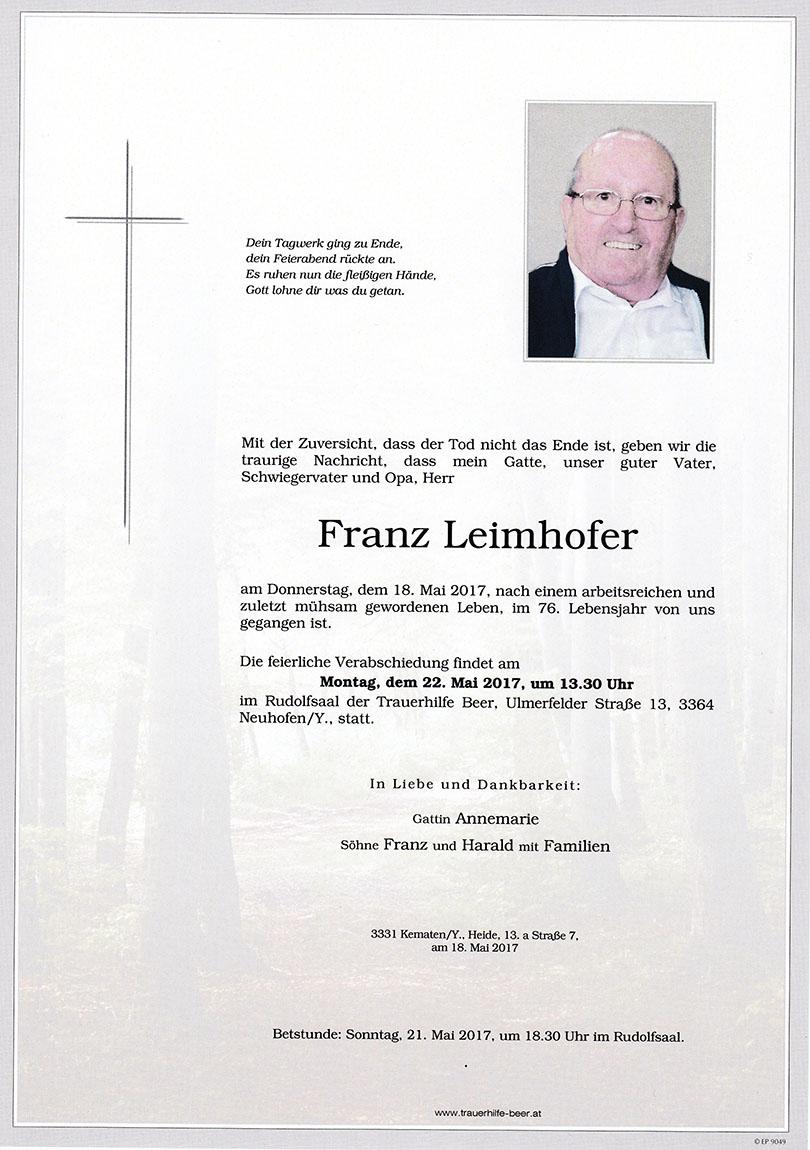Franz Leimhofer