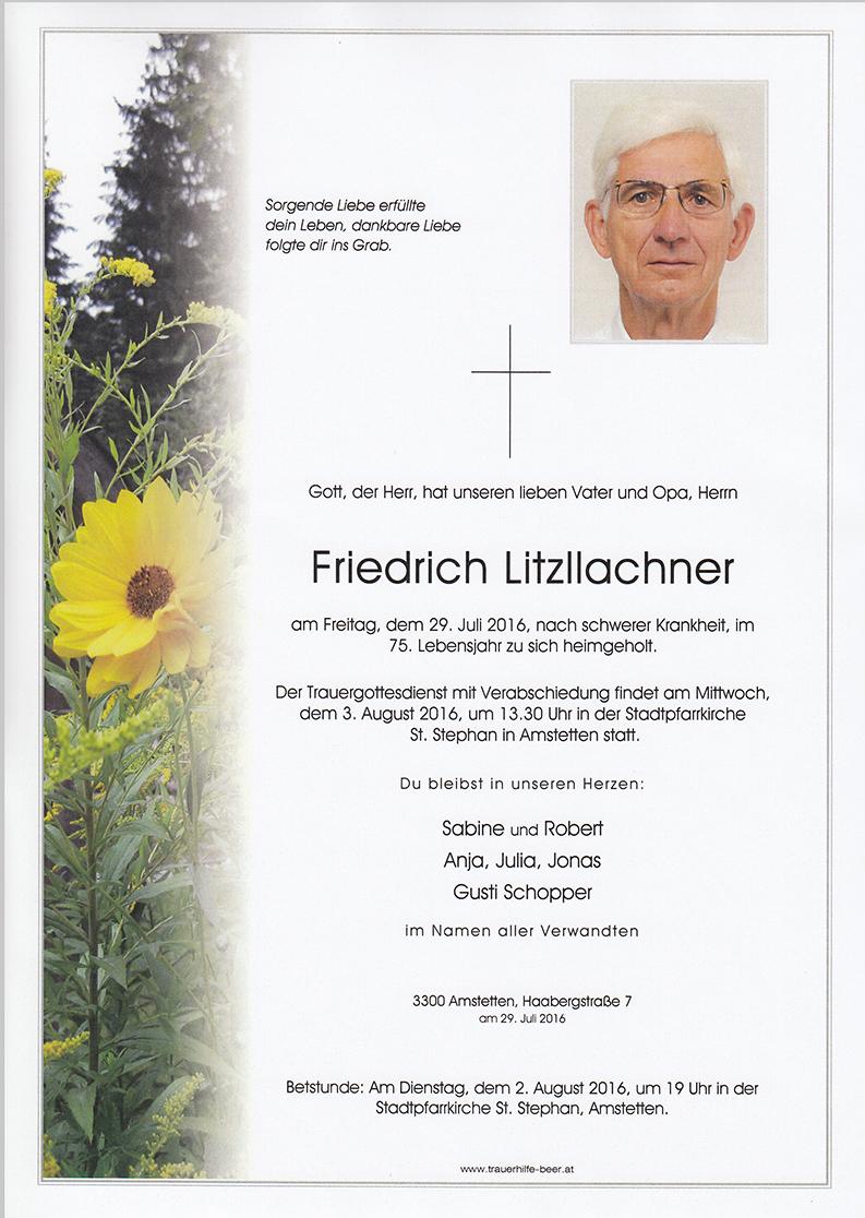Friedrich Litzllachner