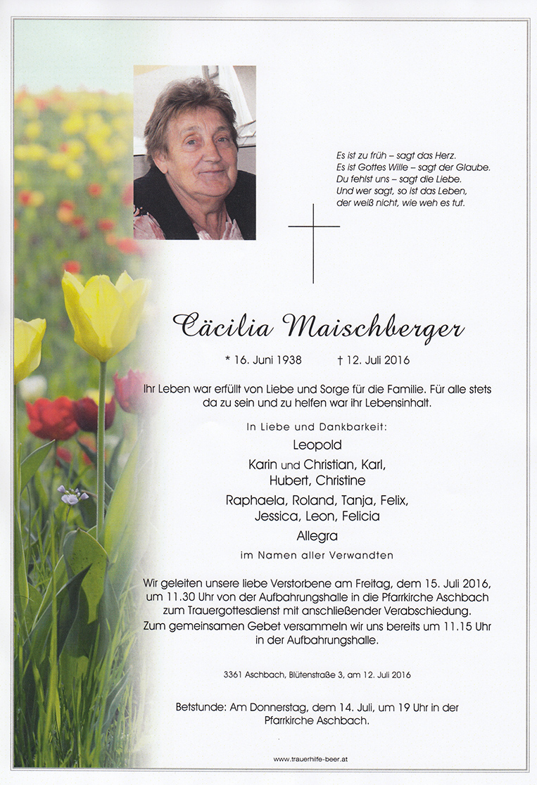 Cäcilia Maischberger