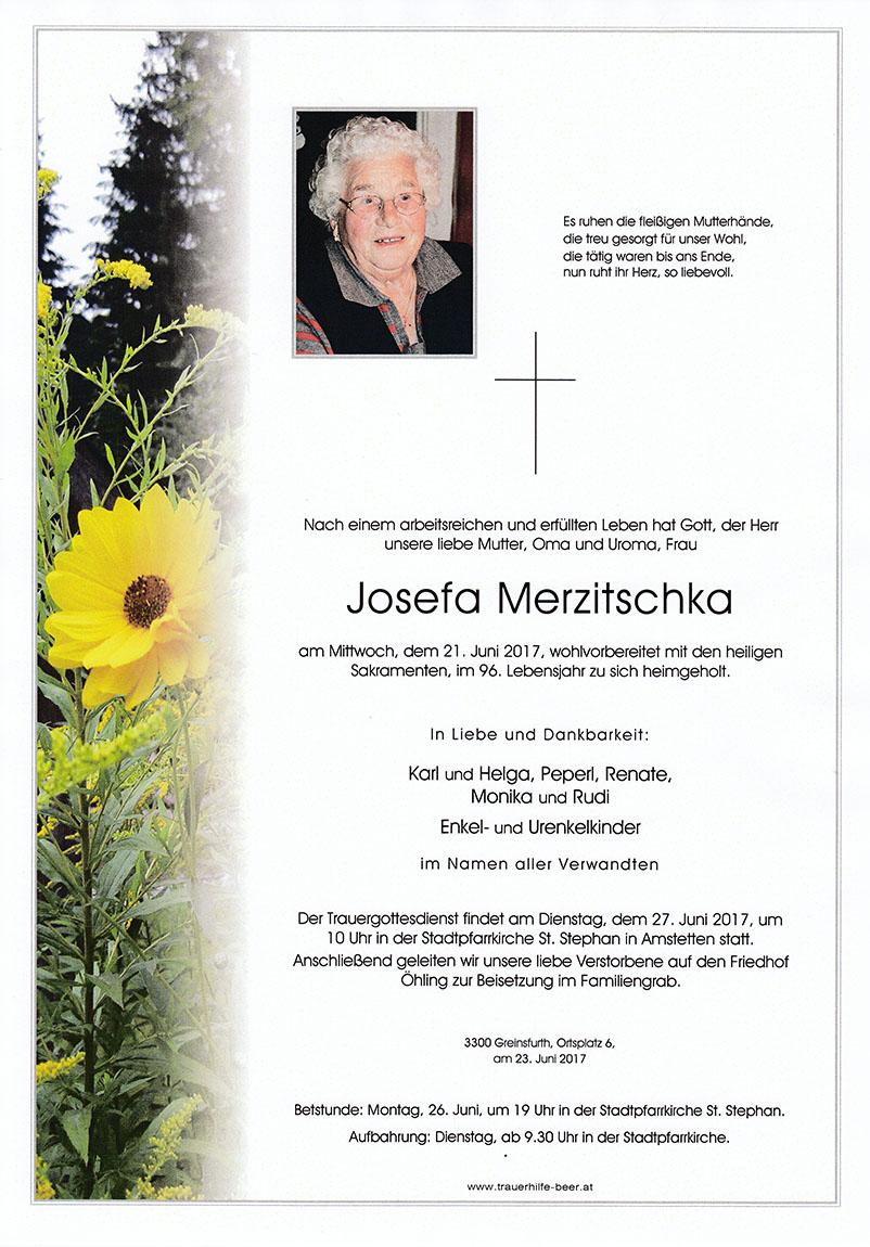 Josefa Merzitschka