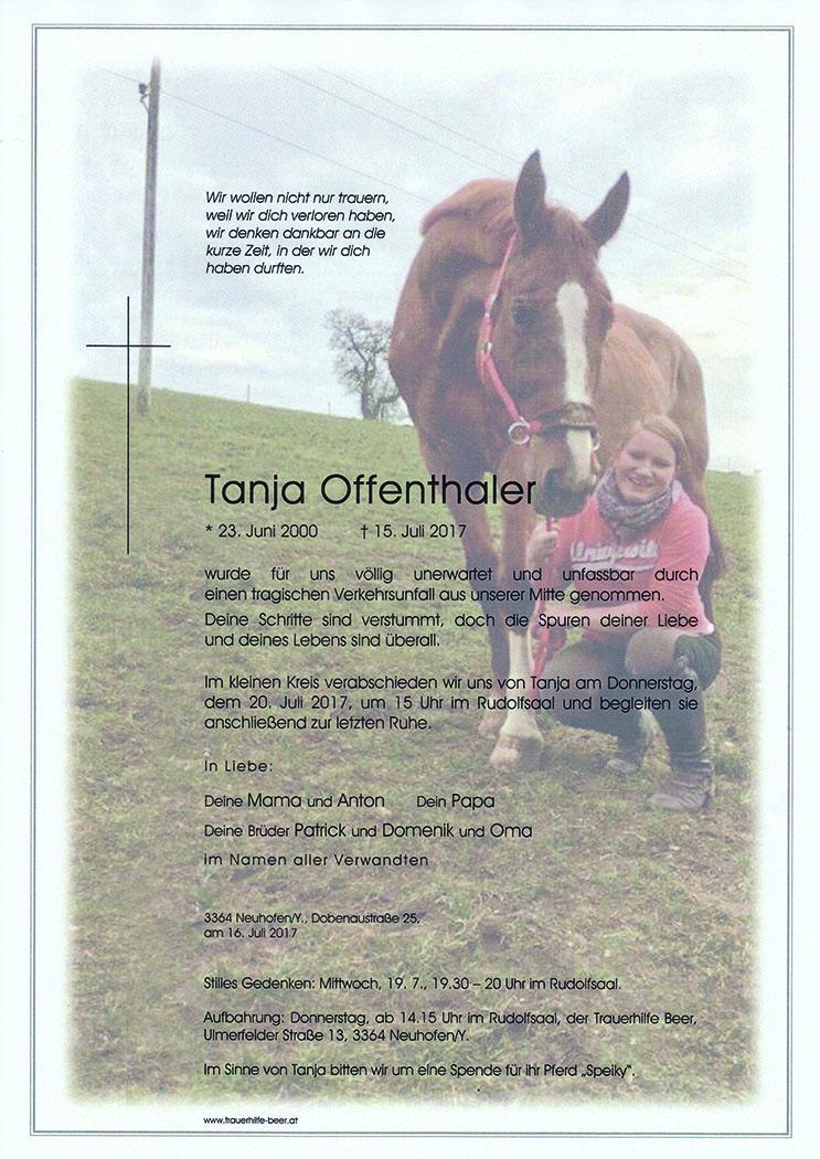 Tanja Offenthaler