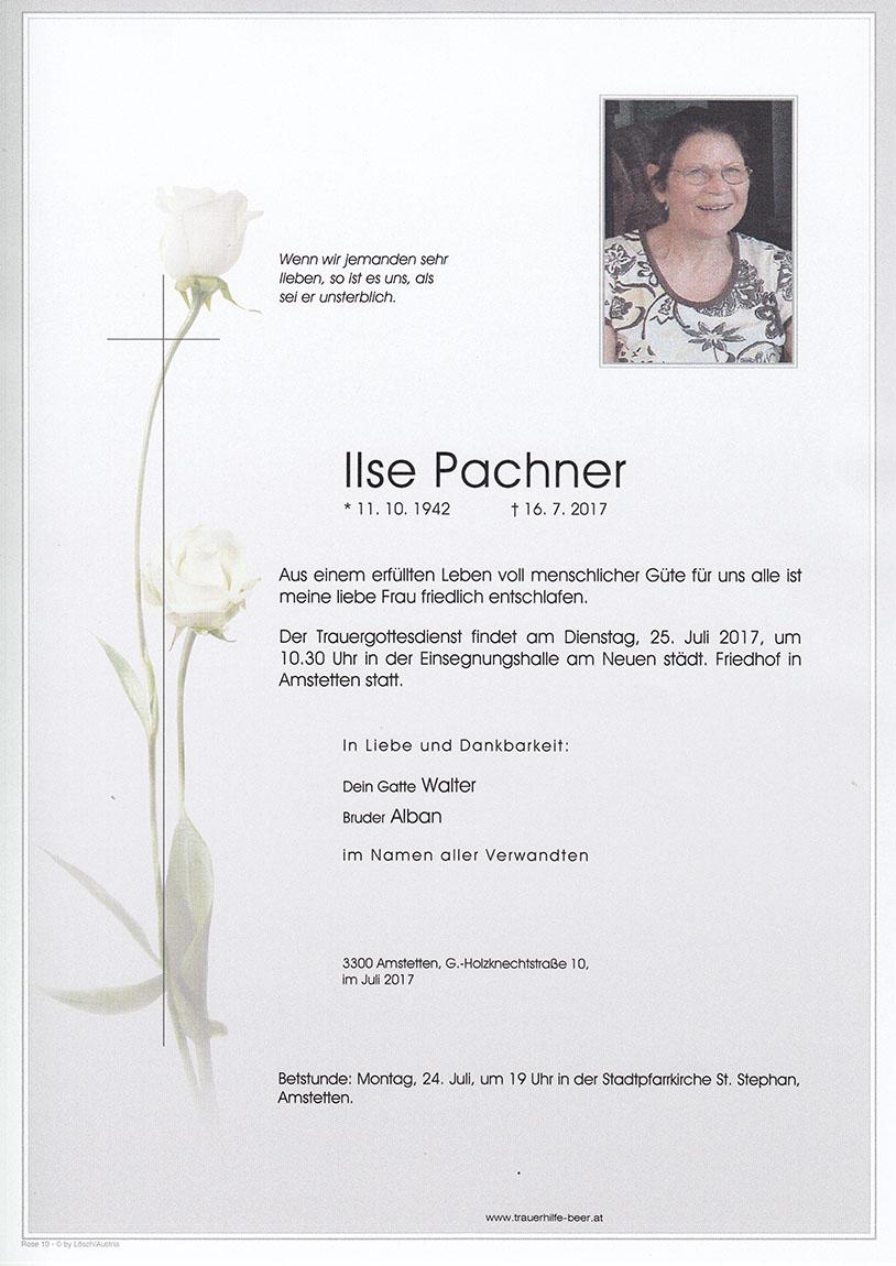 Ilse Pachner