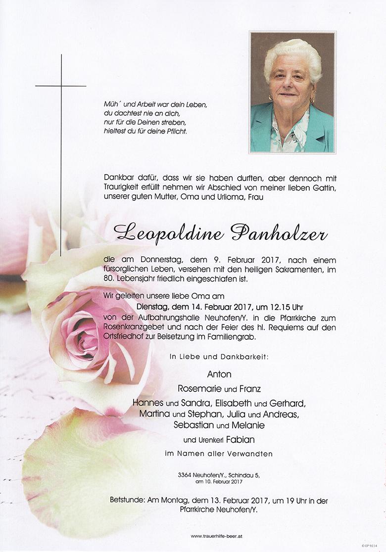 Leopoldine Panholzer
