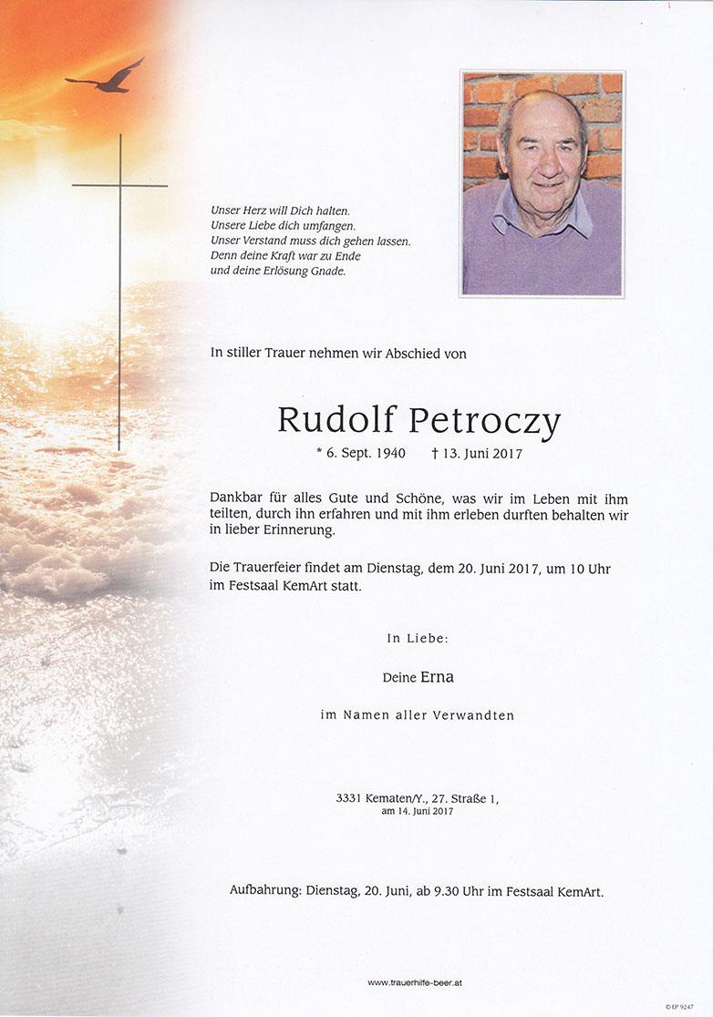 Rudolf Petroczy