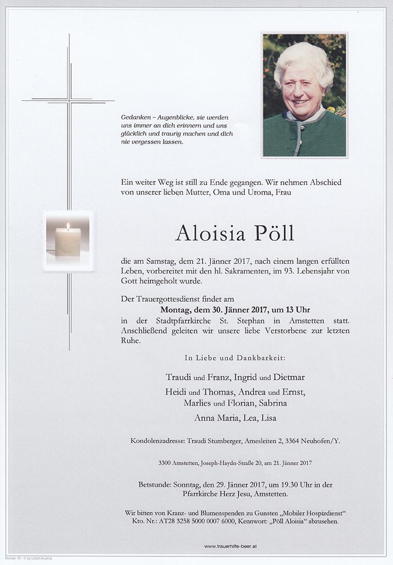 Aloisia Pöll