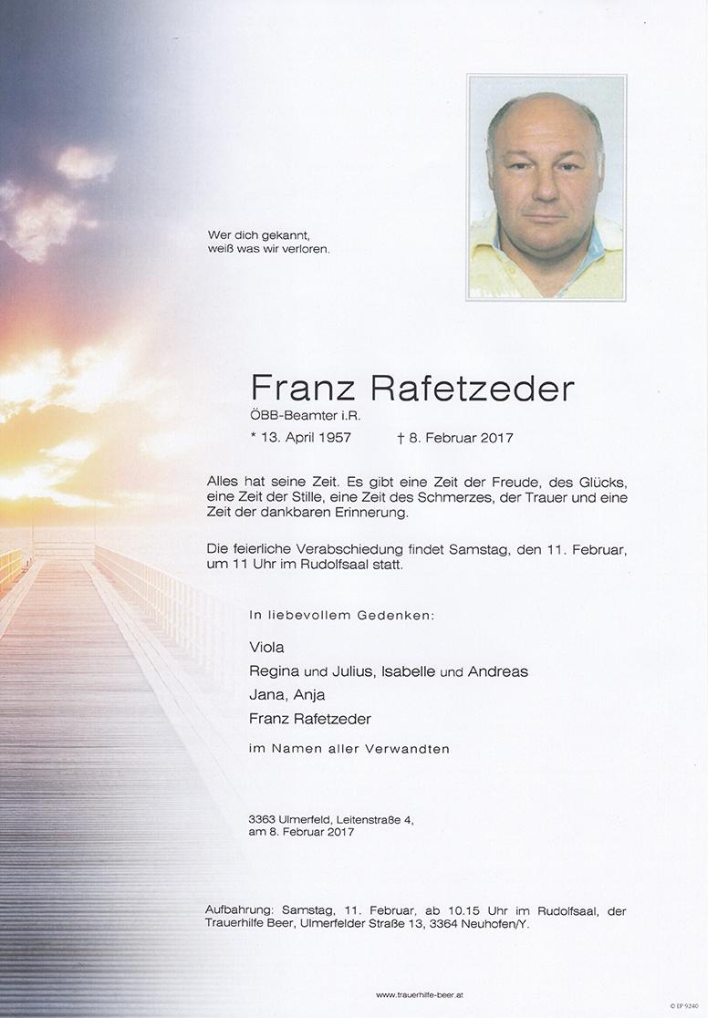 Franz Rafetzeder
