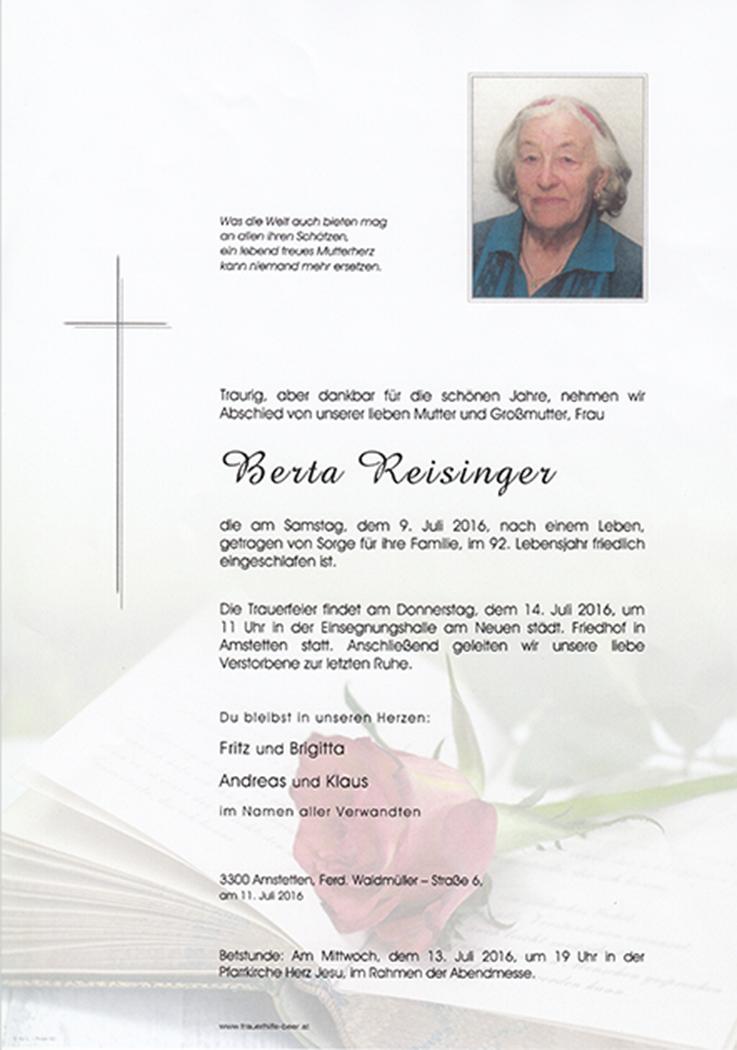Berta Reisinger