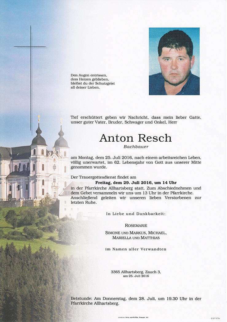 Anton Resch