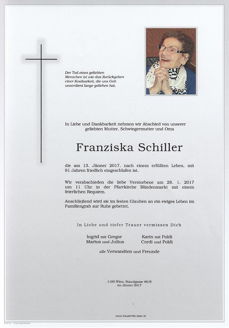 Franziska Schiller