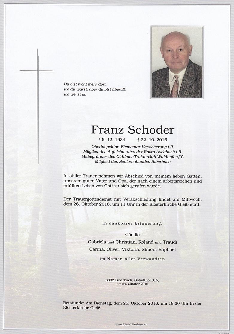 Franz Schoder