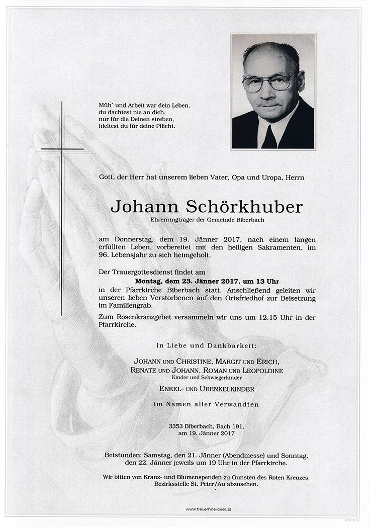 Johann Schörkhuber