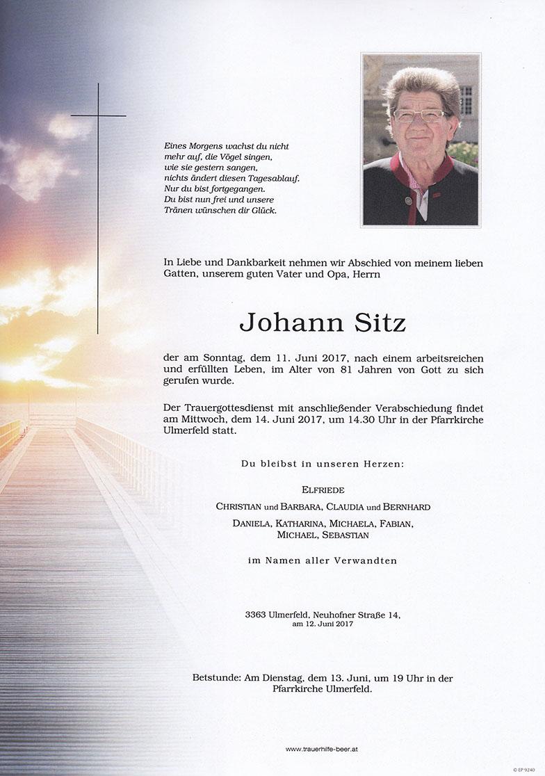 Johann Sitz