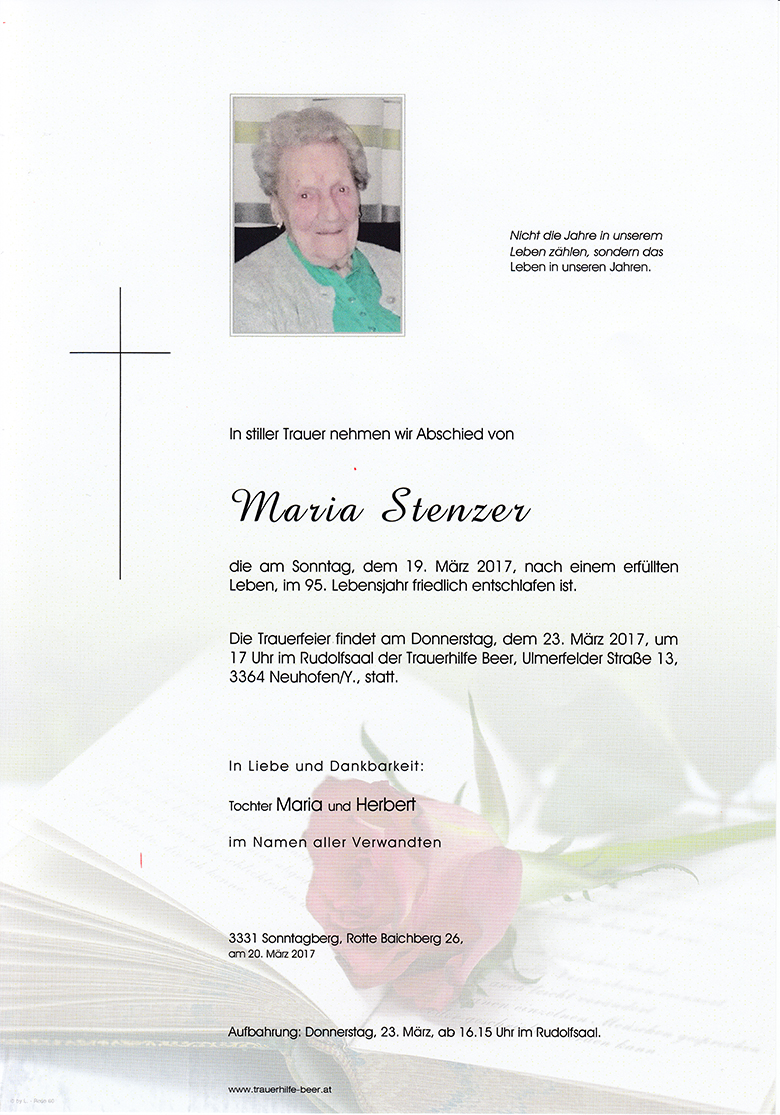 Maria Stenzer
