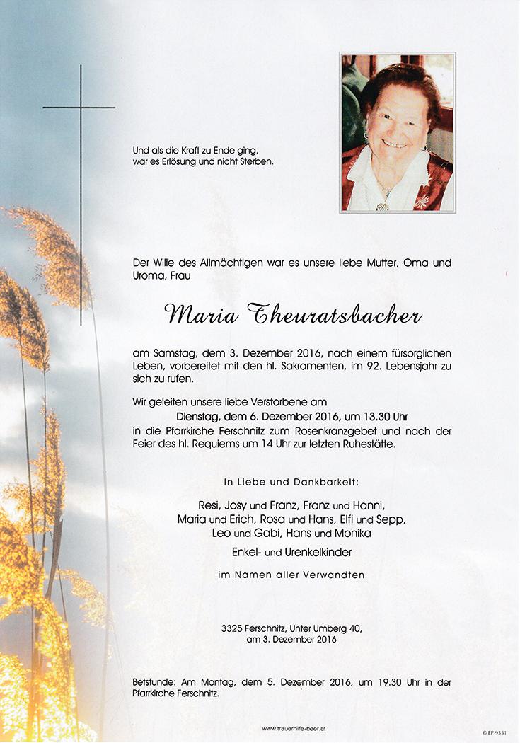 Maria Theuratsbacher