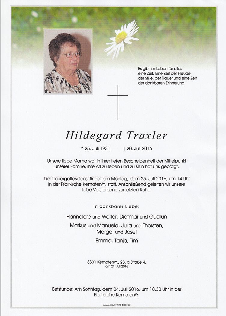 Hildegard Traxler