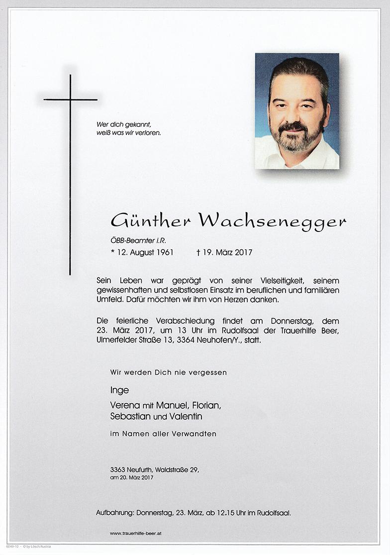 Günther Wachsenegger