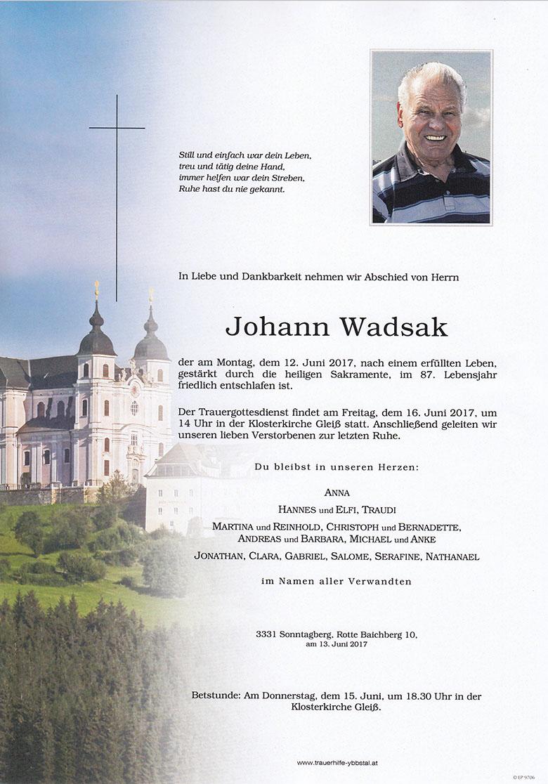 Johann Wadsak